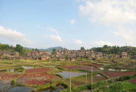 Village dong de Gaoqian, district de Congjiang au Guizhou