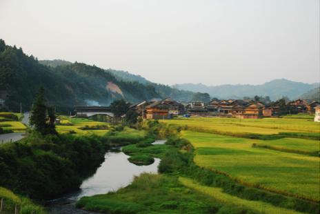 Village de Pingdan, district de Tongdao au Hunan